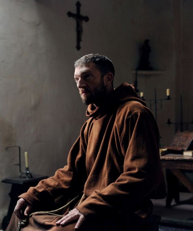 Vincent Cassel in Le Moine, presentato in France Odeon
