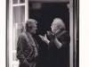 Fellini e Scola, amici