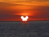 il tramonto a Disneyland