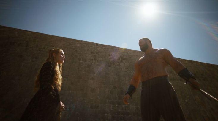 La Montagna e Cersei
