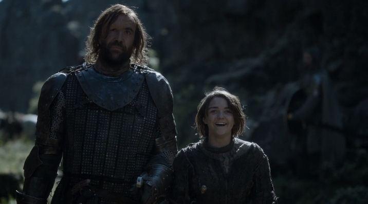 Arya e Sandor