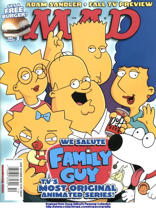La cover di mad magazine