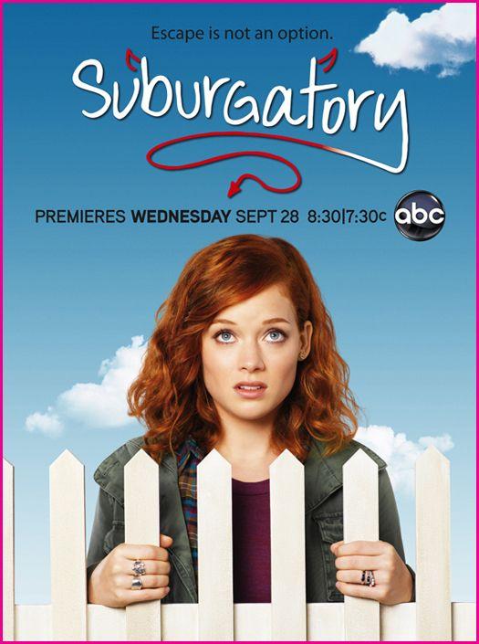 Il poster di Suburgatory