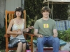 """RAISING HOPE:  Jimmy (Lucas Neff, R) runs into an old flame (Kate Micucci, L) while searching for a day care center for Hope in the RAISING HOPE episode """"Dead Tooth"""" airing Tuesday, Sept. 28 (9:00-9:30 PM ET/PT) on FOX.  ©2010 Fox Broadcasting Co.  Cr:  Ray Mickshaw/FOX"""