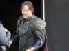 Russell Crowe è Jor-El sul set di Man of Steel
