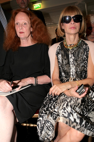 Grace Coddington e Anna Wintour