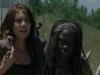 Maggie e Michonne