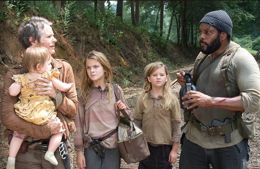 Tyreese and friends