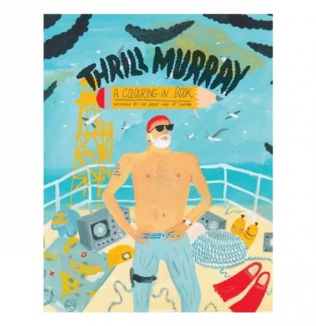 Thrill Murray - Copertina