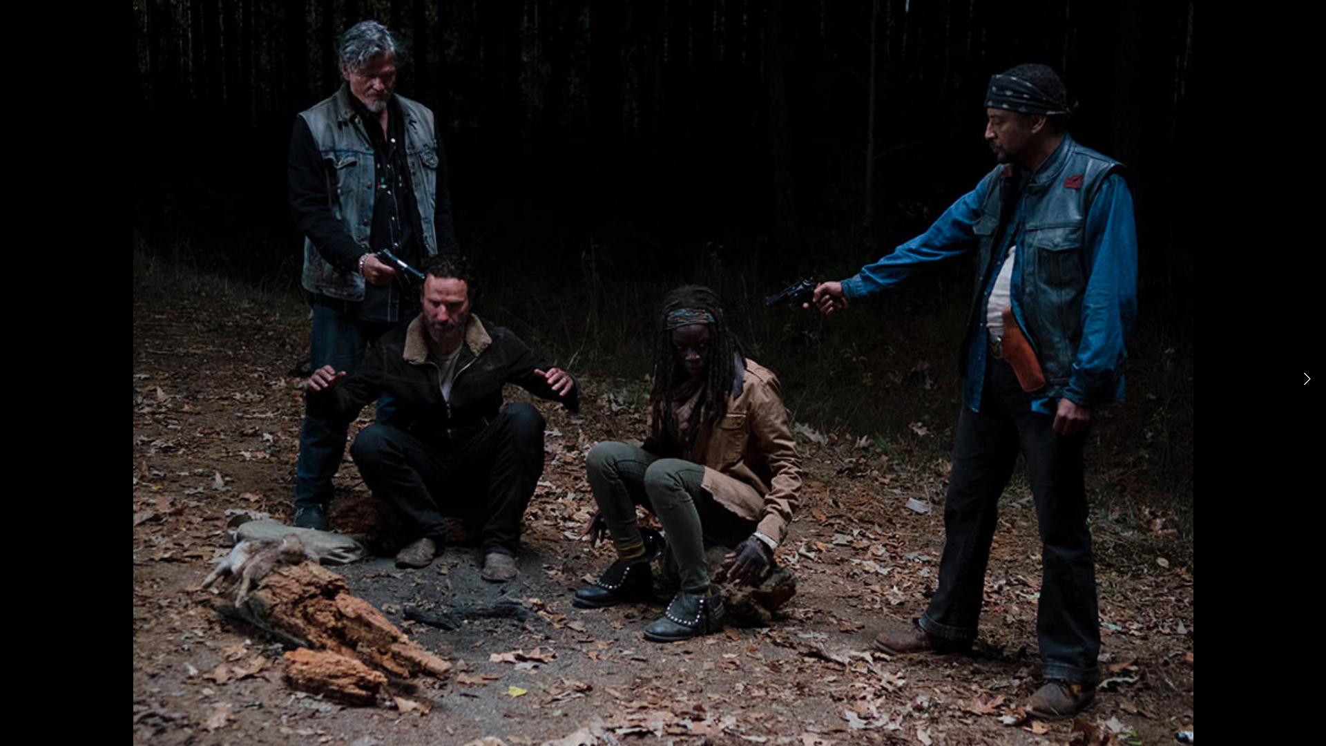 Rick e Michonne