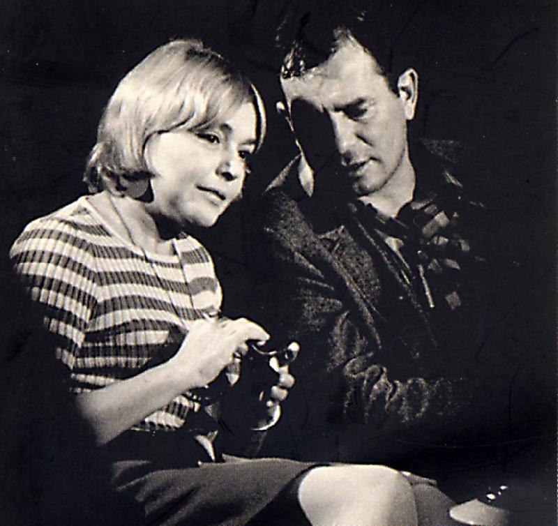 Fernanda Pivano e Jack Kerouac