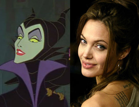 Angelina Jolie Strega Cattiva In Maleficent Cinema Errante