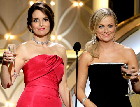 Verso Sud 9 - Tina Fey Amy Poheler Golden Globes 2015